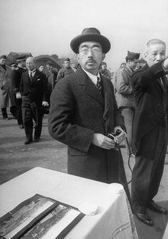 Emperor Hirohito, Yokohama, Japan - 1946 ~