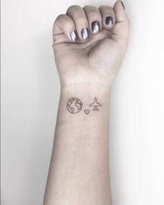 minimalist tattoo | Tumblr