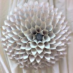 Paper Flower Medallion