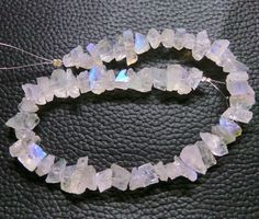 Exquisite Pretty 3 Strand Lot Natural White Rainbow by Tarzimpex White Moonstone, Rainbow Moonstone, White Rainbow, Beads, Trending Outfits, Unique Jewelry, Natural, Handmade Gifts, Pretty
