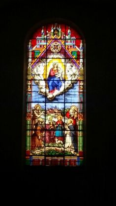 Church window in Bedarieux Church Windows, Places, Painting, Art, Art Background, Painting Art, Kunst, Paintings, Performing Arts