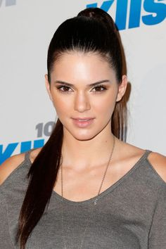Kendall Jenner at the 2012 KIIS FM Jingle Ball. http://beautyeditor.ca/2016/05/16/kendall-jenner-before-and-after