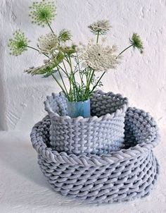 Home made baskets