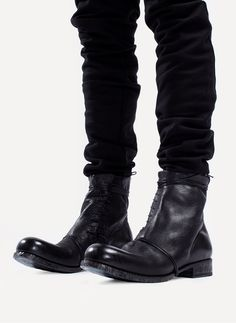 Obscur - HV13-43 Side Lace Boot