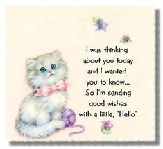 I was thinking about you today. friendship quote hello friend friendship quote friend quote poem thinking of you graphic friend poem Thinking Of You Images, Thinking Of You Today, Thinking Of You Quotes, Hugs And Kisses Quotes, Hug Quotes, Kissing Quotes, Friend Quotes, Qoutes, Sweet Quotes