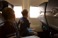 Airline travel with children, kids traveling on a plane, travel tips for children, veteran flight attendant gives advice for traveling with children on an airplane JCP Parenting Hacks