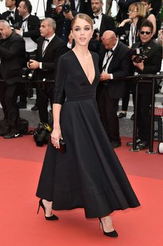 French actress Alice Isaaz attends the closing ceremony of the 69th annual Cannes Film Festival at the Palais des Festivals on May 22, 2016 in Cannes, France.