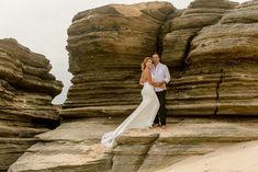 Klaasje & Willie Beach Wedding Portraits by Maria Marguerite Photography Antelope Canyon, Wedding Portraits, Weddings, Beach, Nature, Photography, Travel, Naturaleza, Photograph
