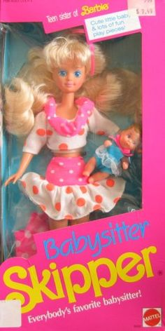 Babysitter Skipper Barbie
