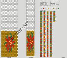 Magic Beads: pattern crochet-bead string