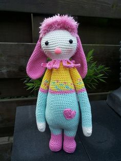 Lalylala bunny Made by Rina B.