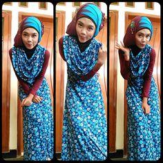 Hijab simple dress