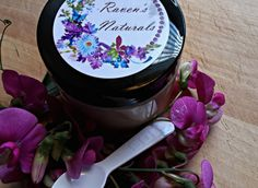 Sweet Pea Salt Scrub by RavensNaturals on Etsy