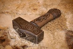 In Norse mythology, Mjölnir is the hammer of Thor, a major god associated with thunder in Norse mythology. Description from pinterest.com. I searched for this on bing.com/images