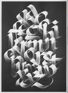 Ideas for wall graphics words fonts Graffiti Lettering Alphabet, Chicano Lettering, Hand Lettering Fonts, Lettering Styles, Typography Letters, Graphic Design Typography, Lettering Design, Calligraphy Wallpaper, Calligraphy Letters