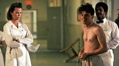 BBC Arts - BBC Arts - Jack Nicholson at 80: Life in pictures - Louise Fletcher as Nurse Ratched and Brad Dourif as Billy Bibbit | A BFI Release