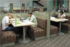 Study Booths Georgia Regents University Augusta, Greenblatt Library