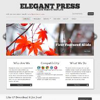 ElegantPress HTML5 and CSS3 Template