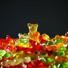 goldbär, gummibären, bär, gelb, fruchtgummis
