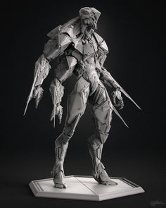 """Watch this zbrush sculpting zbrush tutorial, This helpful tutorial is done by Marco """"Splash"""" Plouffe. Character Concept, Concept Art, Character Design, 3d Character, Zbrush Models, Hard Surface Modeling, 3d Modeling, Splash Zone, Ex Machina"""