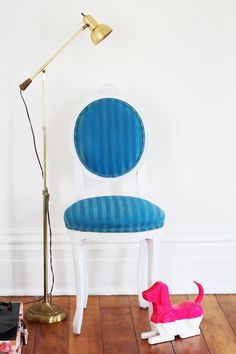 DIY Project Test Lab Results: We Tried 3 Fabric Paints On Upholstery and Here's What Happened