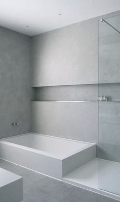 Bathroom Decor minimalist 42 Gorgeous Minimalist Bathroom Design Ideas But Looks Luxurious Contemporary Bathrooms, Modern Bathroom, Small Bathroom, Minimal Bathroom, Ikea Bathroom, Bathroom Storage, Minimalist Bathroom Design, Bathroom Interior Design, Interior Ideas