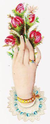 Victorian Hand Scrap