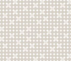 Warm Grey Circles fabric by laughingowldesign on Spoonflower - custom fabric
