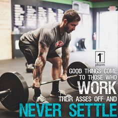 The things you want in life are not going to just be handed to you… that's not how the world works. It's going to take having a #neversettle mentality along with days, months, and years of consistent hard work and sacrifice to get there… but it's worth it. #1stphorm #legionofboom #neversettle #motivation #inspiration #fitness #gym #lifestyle