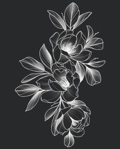 Flower Tattoo Stencils, Flower Tattoo Designs, Sunflower Tattoo Small, Sunflower Tattoos, Wrist Tattoo Cover Up, Family Tattoo Designs, Blackout Tattoo, Black White Tattoos, Black And White Sketches