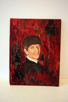 Ringo Starr portrait by mightyfinds on Etsy