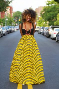 Sunshine ReAdy to ShiP by tribalgroove on Etsy African Print Fashion, Africa Fashion, Fashion Prints, African Prints, Ankara Fashion, Ethnic Fashion, African Love, African Beauty, African Art