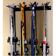 Storage Rack for the cabin and garage. Rough Rack 4-8 Ski & Snowboard Rack