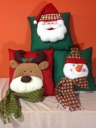 decoracion de navidad papa noel - Buscar con Google Felt Christmas Decorations, Christmas Stockings, Holiday Decor, Christmas Room, Christmas Sewing, Diy And Crafts, Christmas Crafts, Christmas Ornaments, Christmas Cushions
