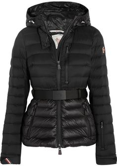 Moncler Grenoble - Bruche Hooded Quilted Down Jacket - Black