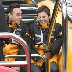 ant and dec | Ant and Dec take to London's Thames for Comic Relief stunt - News ...