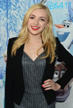 Video: Peyton List at Disney's #Frozen Premiere