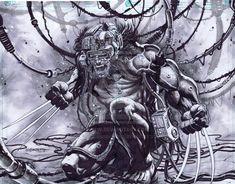 Weapon X Wolverine by emilcabaltierra.deviantart.com on @deviantART