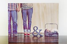 cute new family photo, and I just bought the ampersand prop!