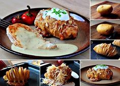 Hasselback Potato Recipe... one of dozens of different variations and delicious recipes available on the internet