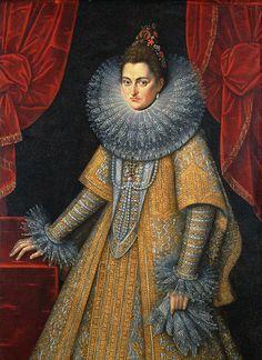 Infanta Isabella Clara Eugenia (1566–1633) by Frans Pourbus II