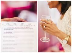 Chic Pink Bridal Shower by Kristen Curette Photography