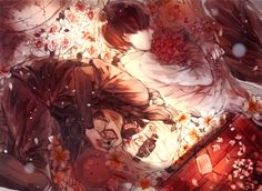 kaneki seies: Tokyo Ghoul Good story but hey its gore touch here I leave this cute picture if someone sees