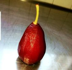 Great recipe for Pinotage poached pear. I always love a poached pear for the colour and versatility of it. It can be served with a salad (some blue cheese and walnuts) or even a scoop of vanilla ice cream Vegan Gluten Free, Vegan Vegetarian, Poached Pears, Pear Recipes, Vanilla Ice Cream, Blue Cheese, Cinnamon Sticks, Fruit, Food