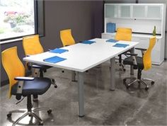 Conference Tables OFM X Glass Conference Table Office - White laminate conference table