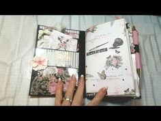 Tutorial *1 Prima Amelia Rose Homemade Travelers Notebook