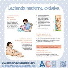 Lactancia materna exclusiva #atencionycuidadosdelbebe #lactanciamaterna