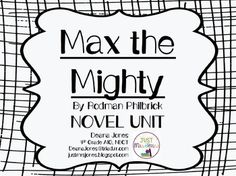 Freak the Mighty by Rodman Philbrick 6 Stages of Plot