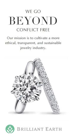 Discover our collection of ethically sourced diamond engagement rings and wedding rings!