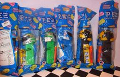 NASCAR PEZ COLLECTION SEALED LOT OF 7